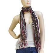 Multi Color Stripe Scarf