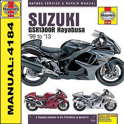 Suzuki Hayabusa GSX1300R 1999-2013 Haynes Manual NEW