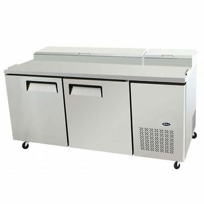 New Atosa 67 2 Door Pizza Prep Table Mpf8202