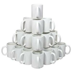 36 pcs 11 oz White Sublimation Cups Mugs Ink Heat Transfer 001007