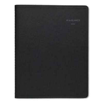 At-a-glance 76-06-05 Quicknotes Monthly Planner 8 14 X 10 78 Black 2020