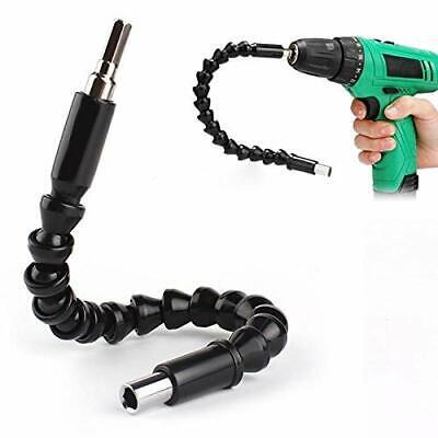 Extensor flexible para broca y taladro con conector universal de 300mm plást...