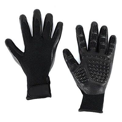 M&MKPET Pet Hair Remover Glove - Gentle Pet Grooming Glove Brush - Desheddin