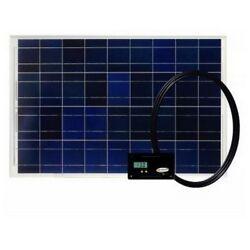 New GP-RV-80 80-Watt Flashlights Solar Kit With 30 Amp Digital Regulator