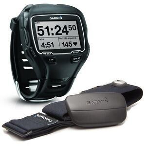 Garmin-Forerunner-910XT-HRM-GPS-Heart-Rate-Triathlon-Training-Sports-Watch
