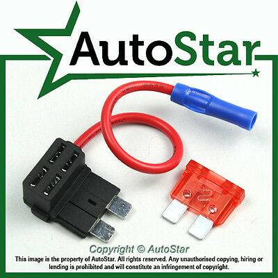 Add A Circuit Fuse Tap Piggy Back Standard Blade Fuse Holder ATO ATC 12v 24v