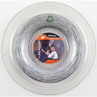 Dunlop Dura Ace 17g Silver Squash & Racquetball String, 100M REEL
