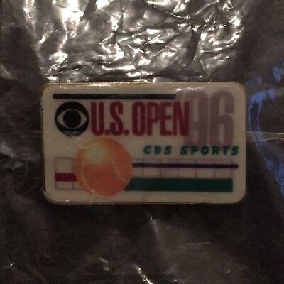 1996 Tennis US Open CBS Sports Media Press Lapel Pin Pete Sampras