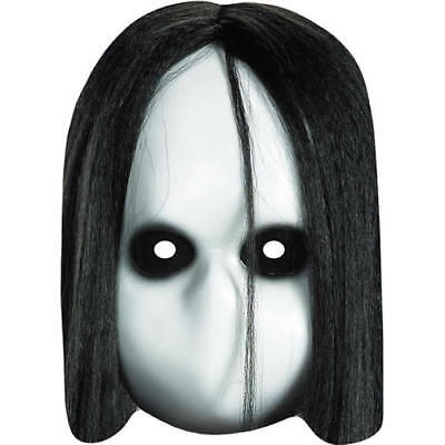 Horror Doll Halloween Celebrity Fright Night Card Mask - Our Masks Are Pre-Cut](Halloween Celebrity Masks)
