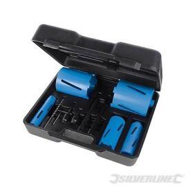 Diamond Core Drill Kit 5-Core 11pce