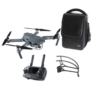 DJI Mavic Pro Quadcopter Bundle CP.PT.000807 12MP 4K Camera - Gray