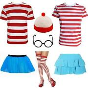 Mens Wheres Wally Fancy Dress