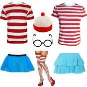 Mens Wheres Wally Fancy Dress