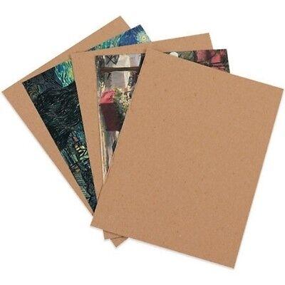 "100 8.5x11'' Chipboard Cardboard Craft Scrapbook Scrapbooking Sheets 8.5""11"""
