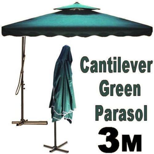 hanging parasol ebay. Black Bedroom Furniture Sets. Home Design Ideas