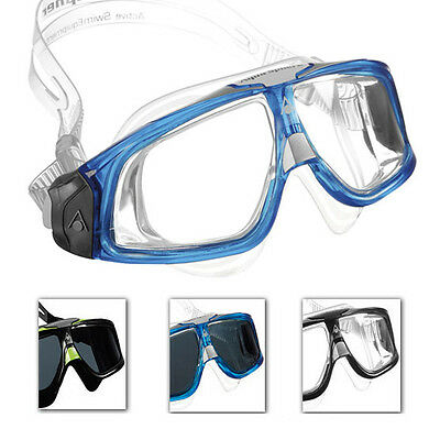 Aqua Sphere Seal 2.0 Mens Swimming Mask Goggles For Swim Pool Open Water (Open Water Swim Goggles)