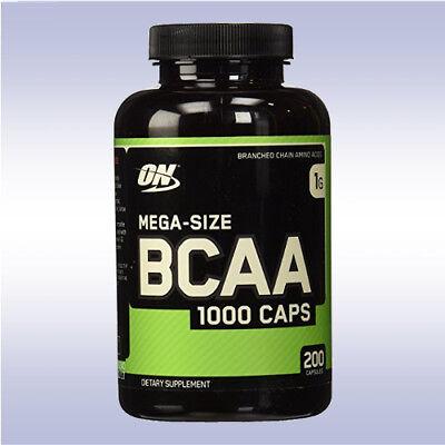 OPTIMUM NUTRITION BCAA 1000 (200 CAPSULES) energy optimen amino gold standard