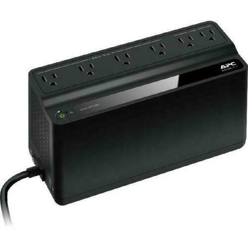 UPS Battery Backup Surge Protector Power Supply Back Up 6 Ou