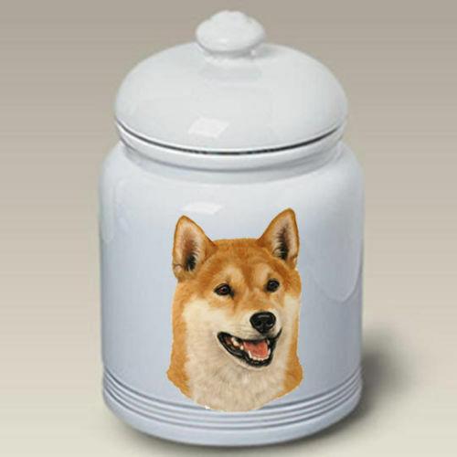 Shiba Inu Ceramic Treat Jar LP 45103