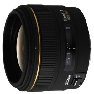 Sigma 30mm f/1.4 EX DC HSM Lens for Canon Mount
