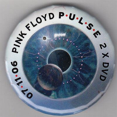 Pink Floyd Pulse RARE promo button 2006