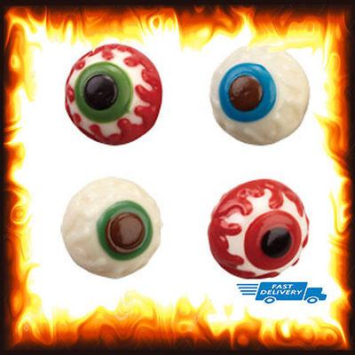 Halloween Eyeball Cake Balls (3D Eyeball Chocolate Candy Cake Ice Mold Mould 5 3 D Halloween Party Eye)