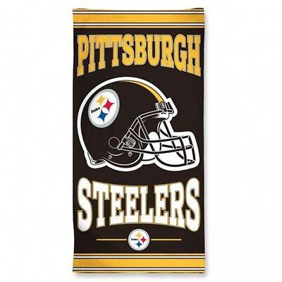 NEW Pittsburgh Steelers Fiber Beach Towel 30