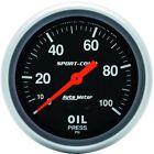 Car & Truck Oil Pressure Gauges