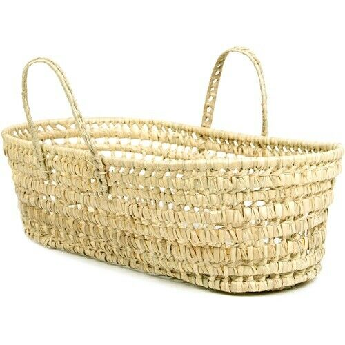 Tadpoles Organic Palm Leaf Moses Basket Baby Newborn Infant Comfortable Gift New