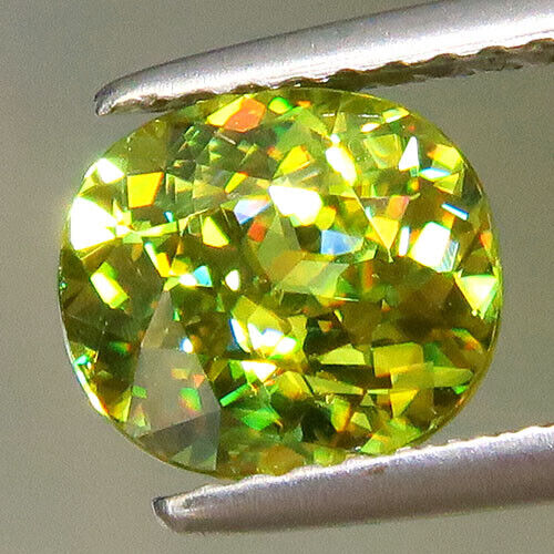 Yellow Green  Sphene   1.82  ct