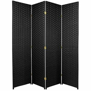 Oriental Furniture 6 ft. Tall Woven Fiber Room Divider