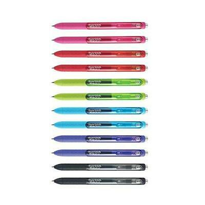Papermate Inkjoy Ink 0.5mm Retractable Gel Pen 1951726 12 Pens New In Box