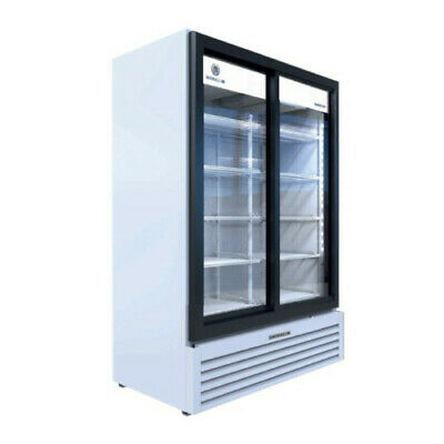 Beverage Air Mt53-1-sdw Two Section Marketeer Refrigerated Merchandiser