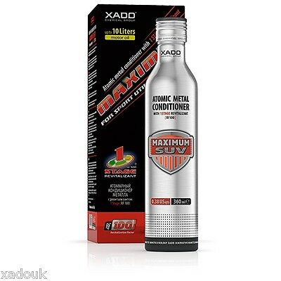 XADO 1 Stage MAXIMUM MOTOR RESTAURIERUNG Öl-Behandlung 4x4 SUV LKW 0-10l Öl ()