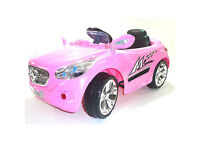 Predatour Style Two Speed 12v Kids Ride on Car with Remote - PINK
