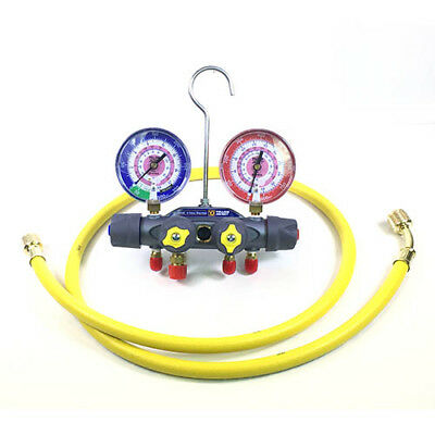 Yellow Jacket 49965 Titan 4-valve Test Charge Manifold Fc