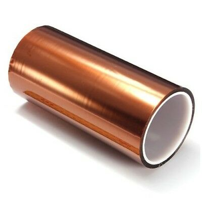 200mm High Temperature Heat Resistant Kapton Tape Polymide Bga 100ft