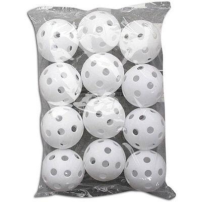 Champion Sports Dozen Wiffle Balls in Package Practice Sports Baseball Plastic