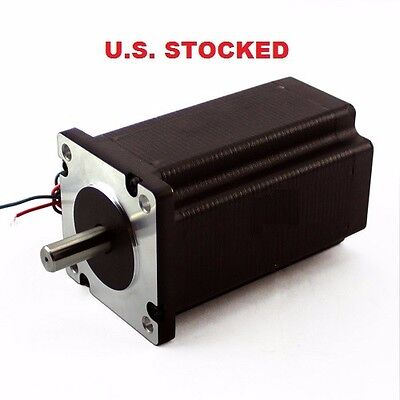 2pcs Nema23 570ozin 5a 38 Dual Shaft Stepper Motor Kl23h2100-50-4b