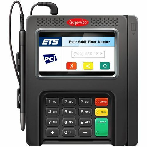 One Ingenico iSC250 POS Credit Card Terminal