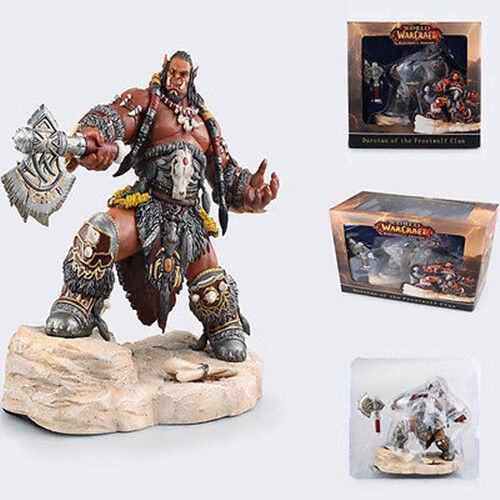 WOW World of Warcraft Durotan of The Frostwolf Clan PVC Figure Statue New In Box