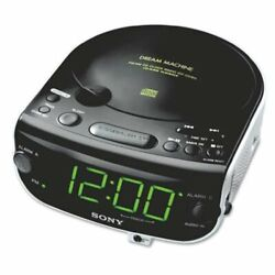 Sony ICF-CD815 AM/FM Stereo CD Clock Radio with Dual Alarm (NEW)