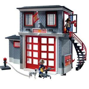 playmobil fire engine instructions