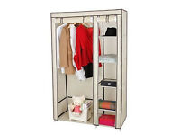 Songmics Double Canvas Wardrobe Cupboard