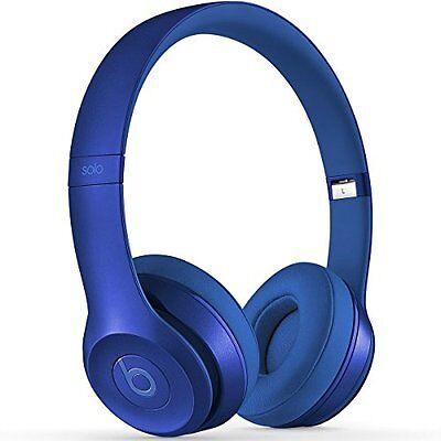 NEW Beats by Dre Solo2 On Ear Headphones - Blue Sapphire