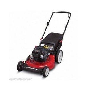 push lawn mower self propelled push lawn mowers