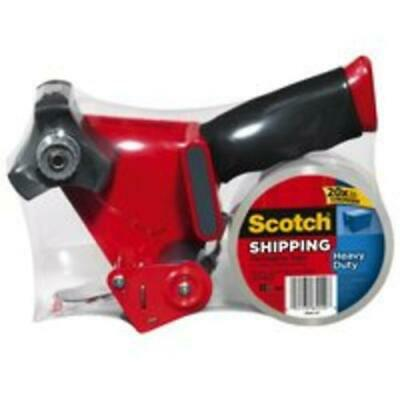 Scotch 3850-st Heavy-duty Shipping Packaging Tape With Dispenser