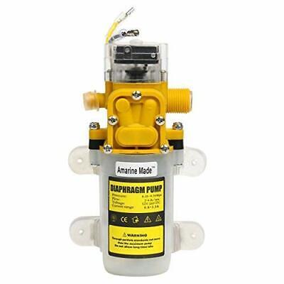 Automatic High Pressure Diaphragm Water Pump Dc 12v 30w 3.6lmin