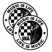 Ska Stickers