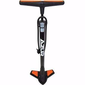 Half Price** Azur Alloy Bicycle Foot Floor Pump for Bike (Orange) East Perth Perth City Area Preview